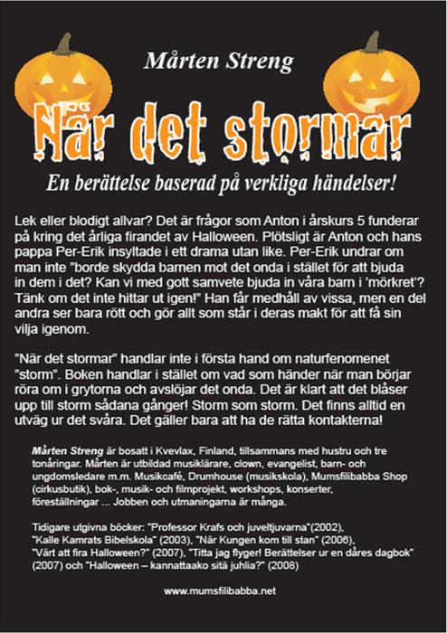 Mickelsson.net - Nyheter - Kampen mot Halloween - fortsättningen a7c8c53da961c
